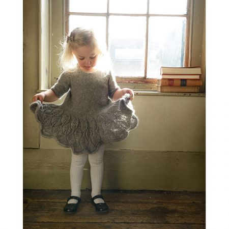 Purl Alpaca Designs: The Maddie Leaf Dress Child