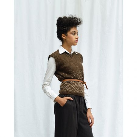 Malachi Waistcoat by Kari-Helene Rane