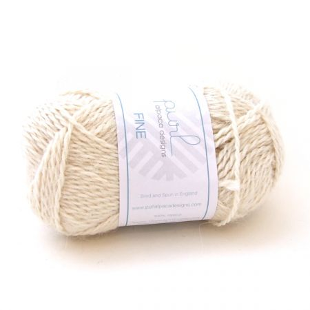 Purl Alpaca Designs: Fine – Ivory