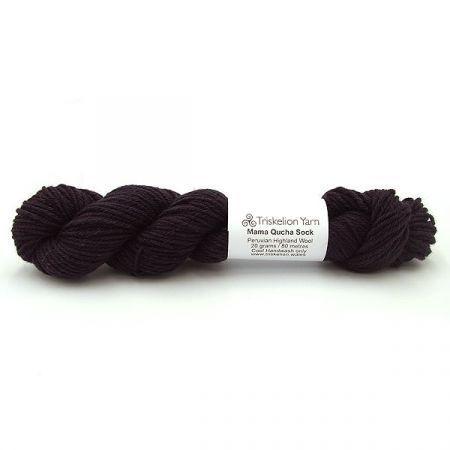 Triskelion Yarn: Mama Qucha Sock Mini - Ink