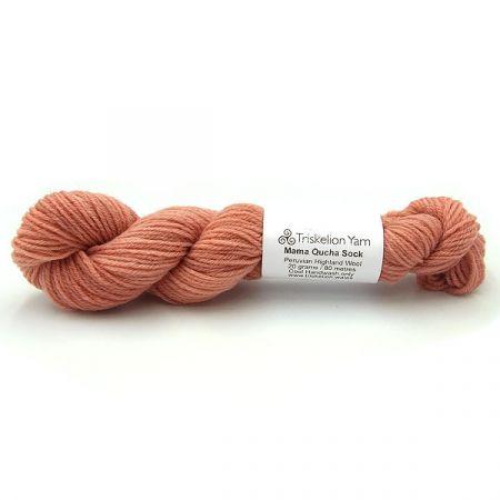 Triskelion Yarn: Mama Qucha Sock Mini - Seashell