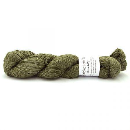 Triskelion Yarn: Mona 4ply - Olive