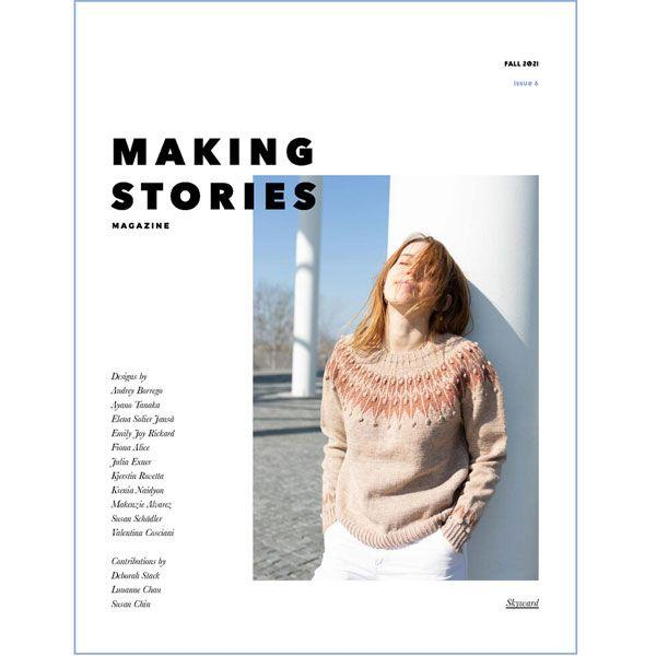 Yarn Pairings for Making Stories - Issue 6