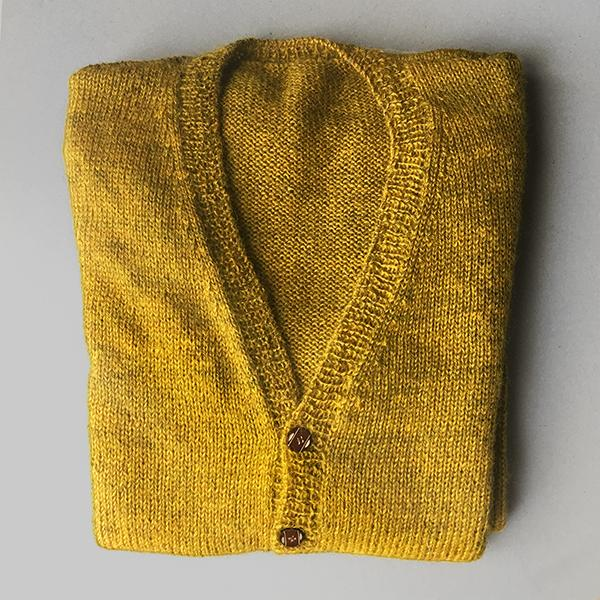 What George Knits - The Longfellow Cardigan