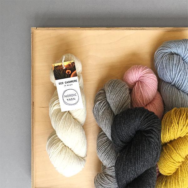 New Yarn - Nordic Yarn Eco Cashmere