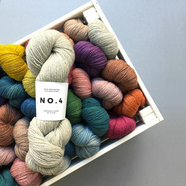 New Yarn: G-uld - No. 4
