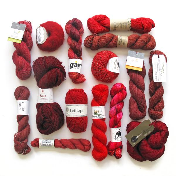 Knit a Rainbow - Red