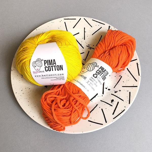New Yarn - <span>BettaKnit</span> Prato Cotton and Pima Cotton