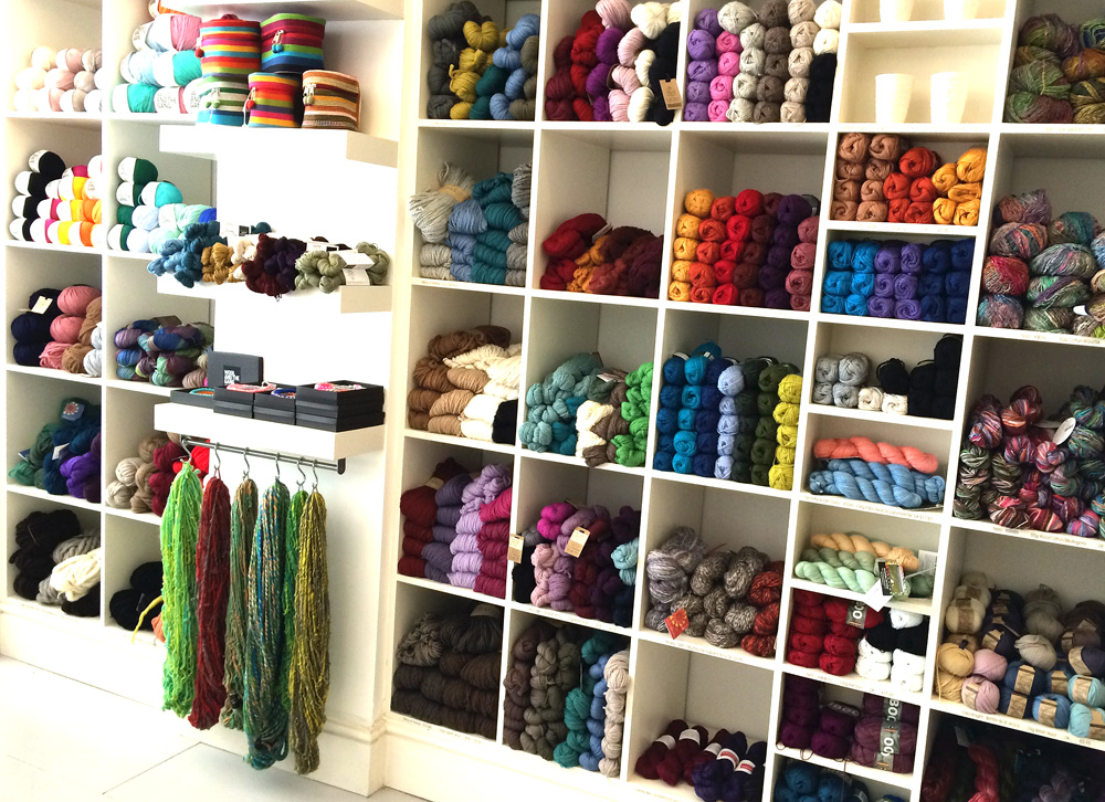 Knit with attitude specialise in ethical and eco-friendly yarn, books and accessories for hand knitting and crochet