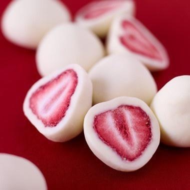 strawberries and Greek yoghurt