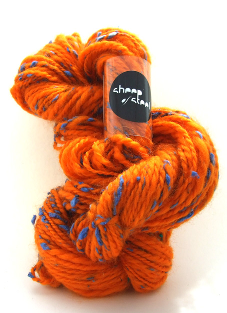 Toxic Silk in Orange