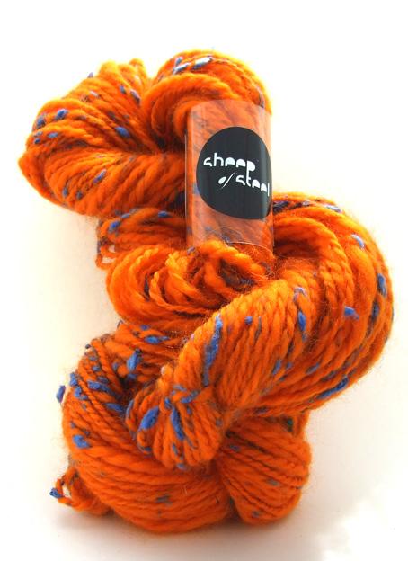 Toxic Silk in Orange