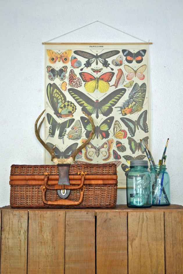 Make your own vintage style poster - via azul home