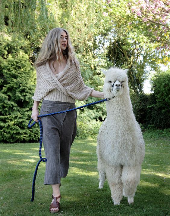 7bd013c4d9be2d ... knitting kits from Purl Alpaca Designs  Allegro Shawl Top