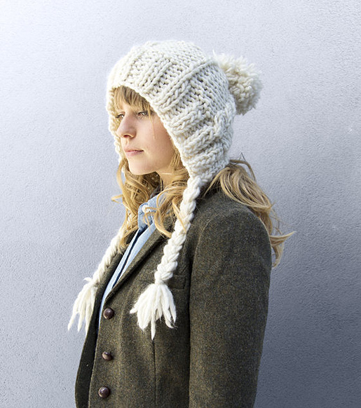 Cable Coo Hat by Stitch & Story