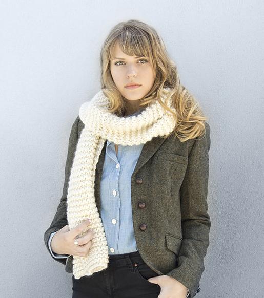 Grazier scarf by Stitch & Story