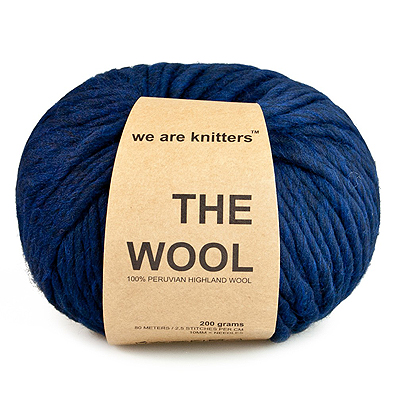 We are Knitters Navy Blue