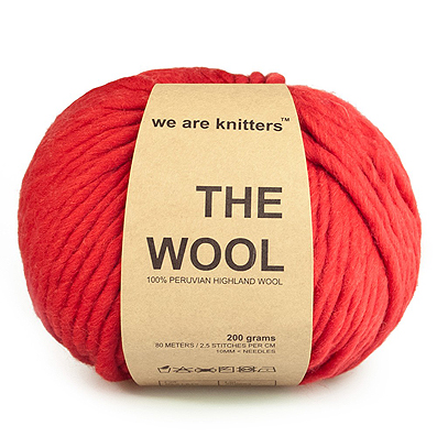 We are Knitters Red