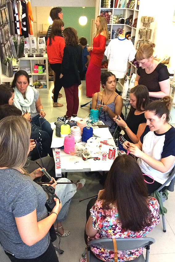 WATG Workshop at Knit with attitude