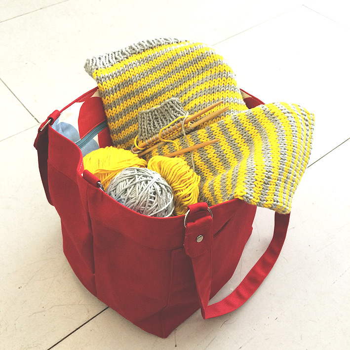 Square Clip Bag