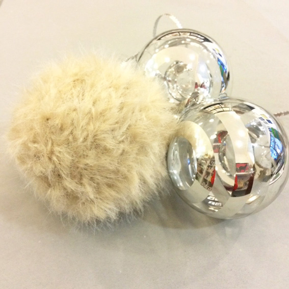 Furry Christmas Bauble