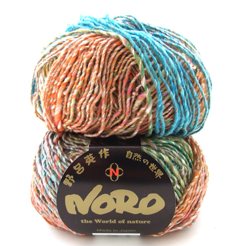 Noro Kibou - Cotton, wool and silk blend