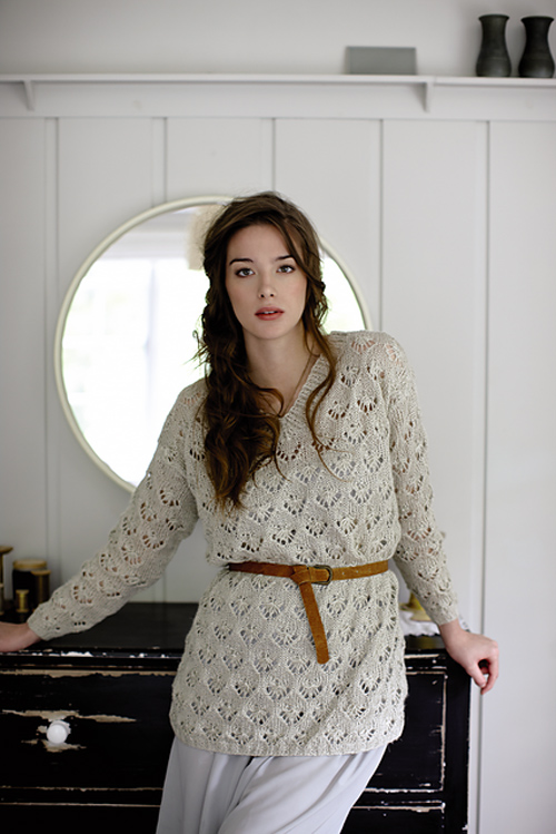 Kilda - from Rowan The Pure Linen Collection