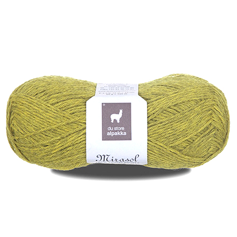 Du Store Alpakka Mirasol - Acid Green