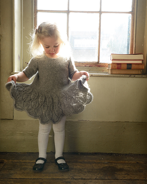Purl Alpaca Designs - The Maddie Leaf Dress