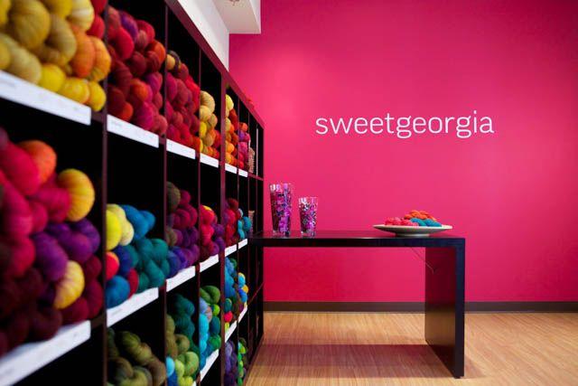 SweetGeorgia headquarters in Vancouver, BC.