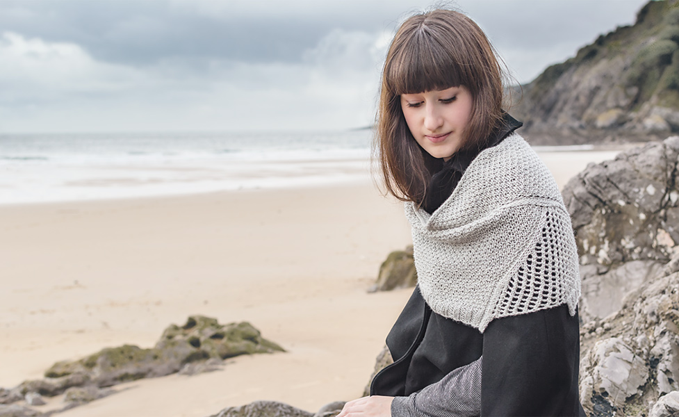 Ketch Harbour - stunningly constructed - a new take on  the shawl