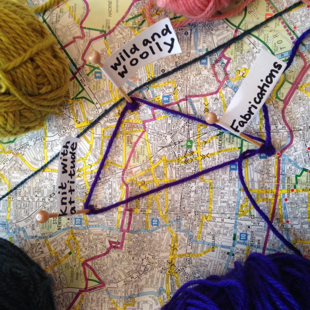 East London Yarn Triangle