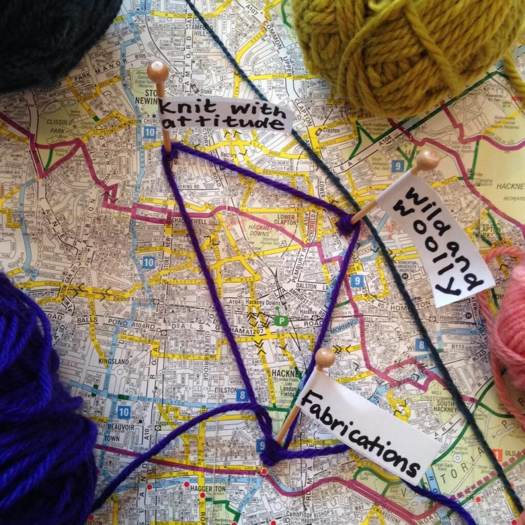 East London Yarn Triangle