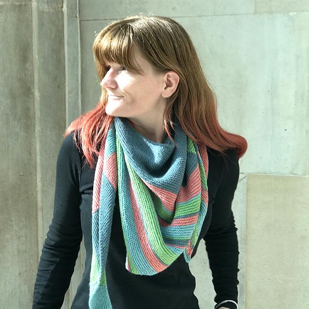 What Maya Knits - two shawls