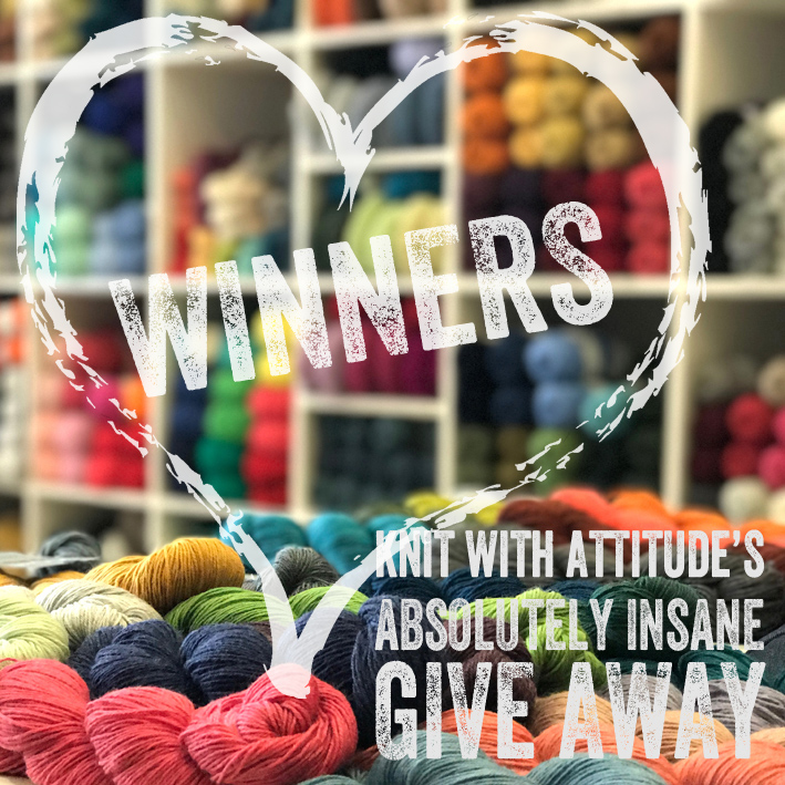 Knit with attitude's Insane Give Away
