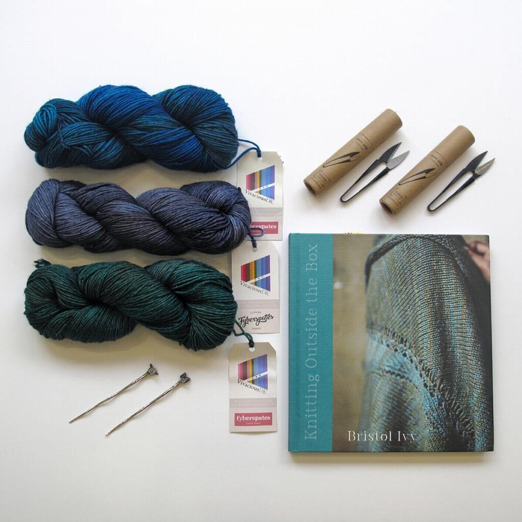 Knitting Outside the Box by Bristol Ivy is a stunning book. Beautiful in  design and photography. It's more than a book of patterns, Bristol Ivy  takes you ...