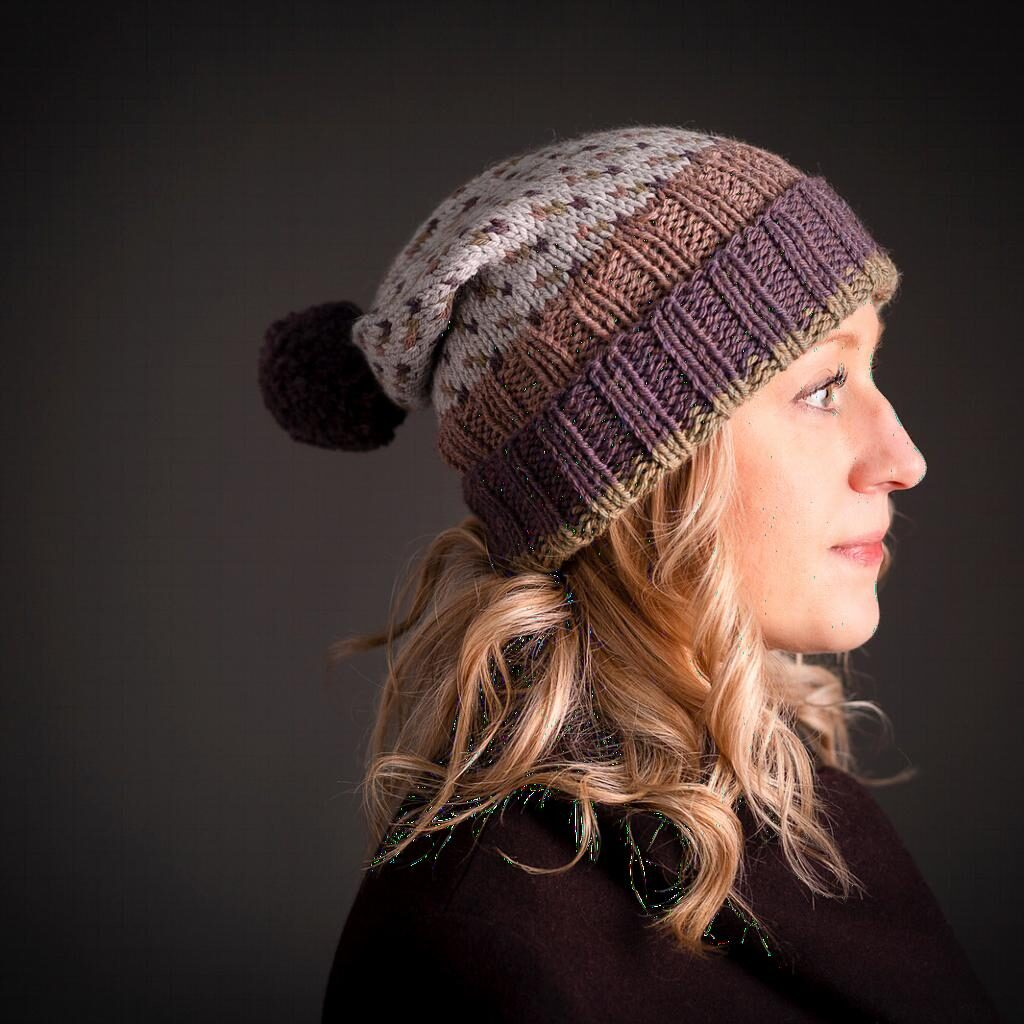 e0fe4768d62920 The Weel Riggit Hat lets you sample the colour combinations of the jumper  but in this smaller project. Using 4 skeins in 4 different shades to  produce the ...