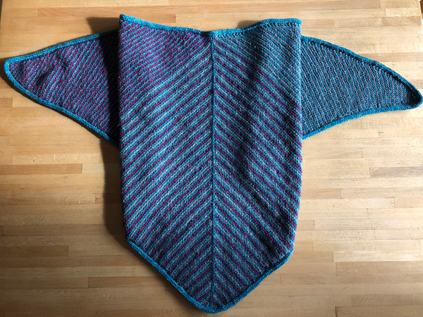 Hollo06's Trio Shawl.