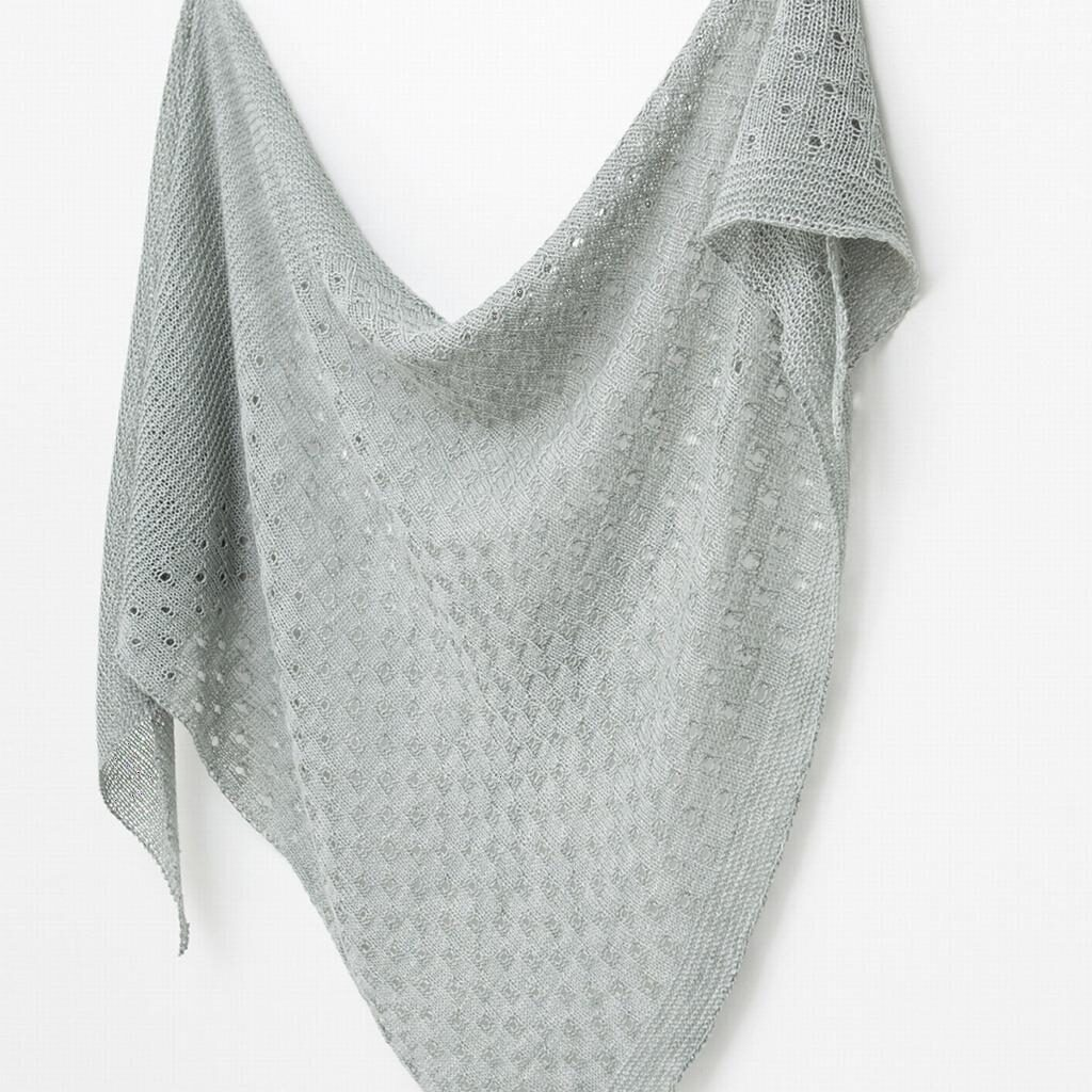 ca7e2ae1f233 Summer Meadow by Janina Kallio is a simple easy to knit shawl that will  celebrate the yarn