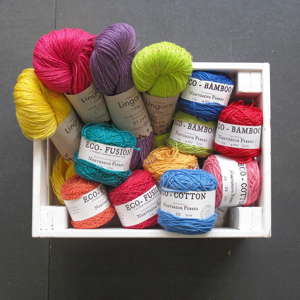 9b77a98ec8b Here at Knit With Attitude we have various different plant fibres as well  as plant fibre and wool blends. In this post I am going to focus on Växbo  Lin ...