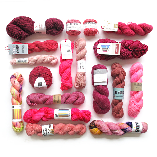 Knit a Rainbow - Pink