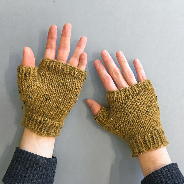 What George Knits - North Country Mitts