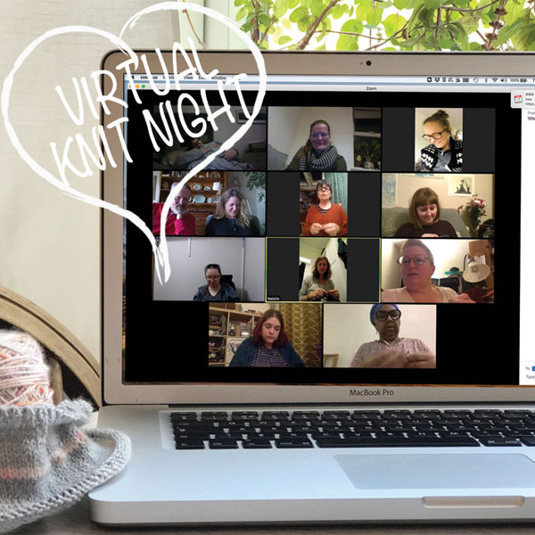 Virtual Knit Night - take 3