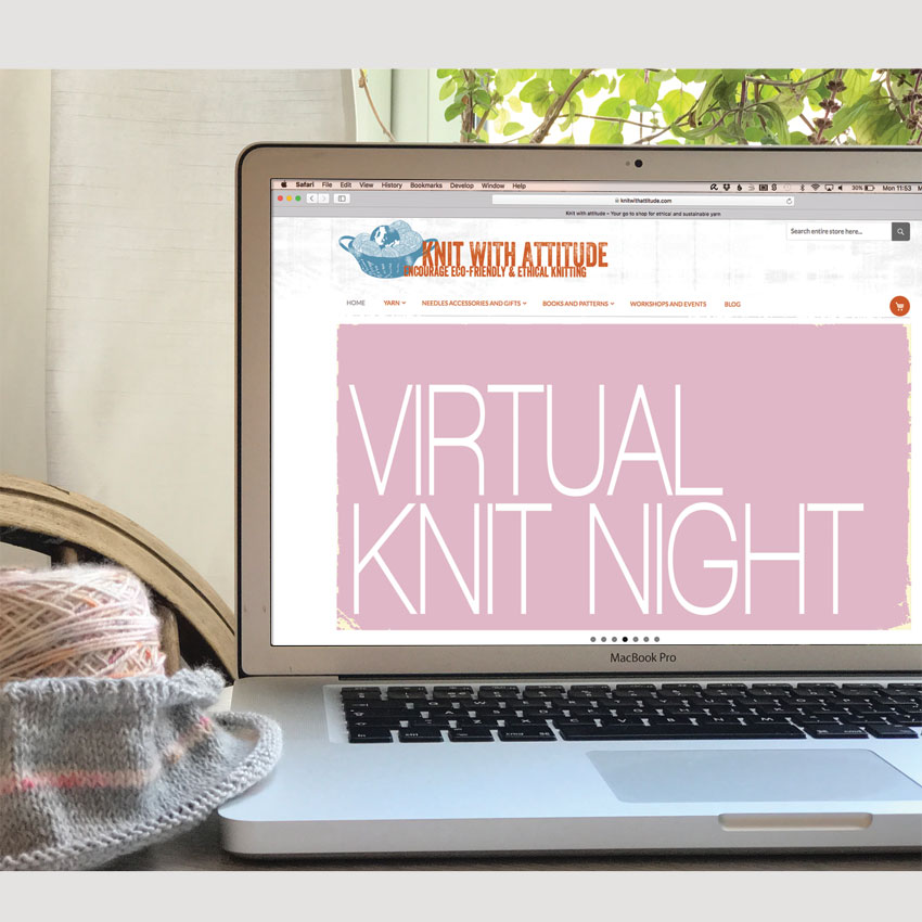 Virtual Knit Night July 30th