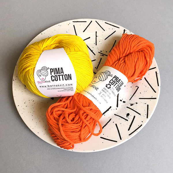 New Yarn - BettaKnit Prato Cotton and Pima Cotton