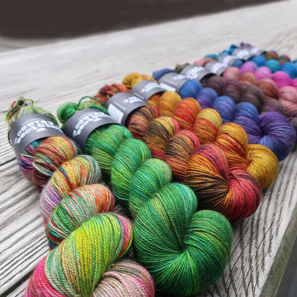 New Yarn - Countess Ablaze Rebel Batch Resist & Hope