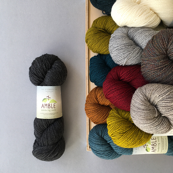 Time to Amble! - New Yarn from the Fibre Co.