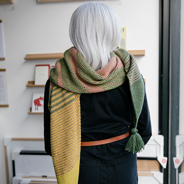 The Synonym scarf by George Cullen