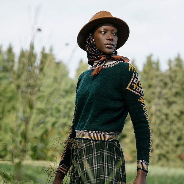 the Seli Sweater by Aleks Byrd
