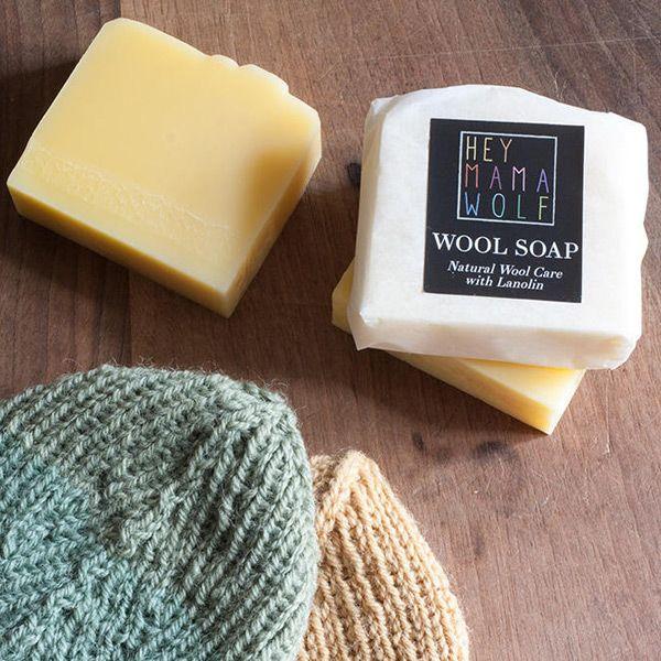 Hey Mama Wolf Wool Soap
